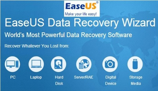 EaseUS Data Recovery Wizard: free software to recover lost data!